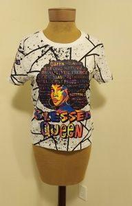 On Fire Blessed Queen T-Shirt
